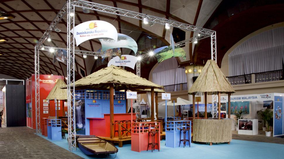 Holiday World 2012, Prague, 84 m2, corner exposition