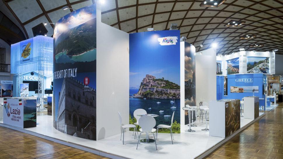 Holiday World 2018, Prague, 120 m2, island exposition
