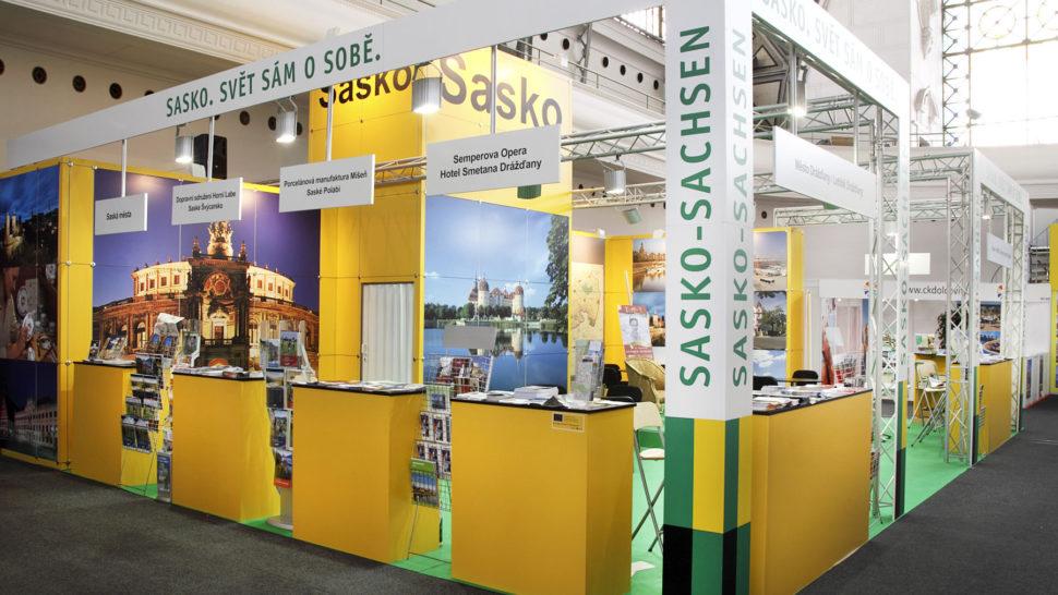 Holiday World 2018, Prague, 131 m2, corner exposition